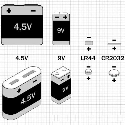 Батарейки Крона, 3R12, кнопочные