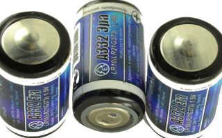 Все о батарейке А332 – аналоги и характеристики