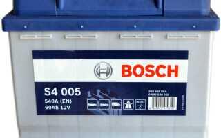 Дата изготовления аккумулятора Бош