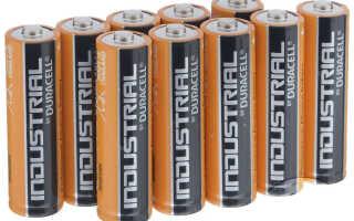 Пальчиковые батарейки АА типа