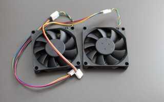 3 pin разъем вентилятора: как подключить