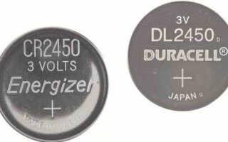 Все о батарейке CR2450 — характеристики и аналоги