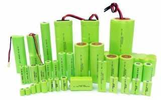 Ni mh аккумуляторы: основные параметры