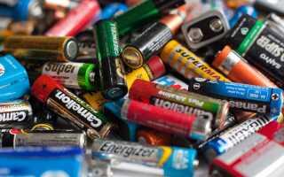 Виды батареек по размерам, типу, составу