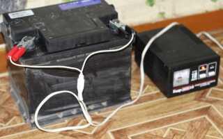 Как заряжать щелочной аккумулятор
