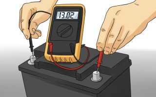 Проверяем АКБ автомобиля с помощью мультиметра правильно