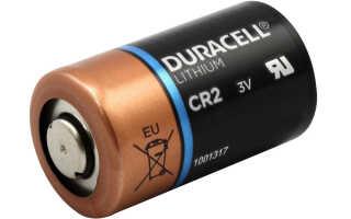 Все о батарейке CR2 – характеристики и использование