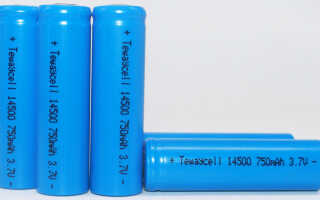 Батарейка 14500 – характеристики и правила эксплуатации