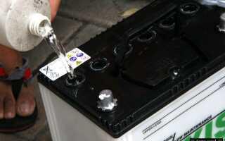 Что делать при замерзании электролита аккумулятора
