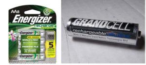 Алкалиновые батарейки Energizer
