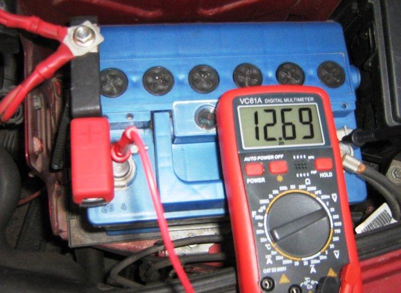 Проверка заряда генератора