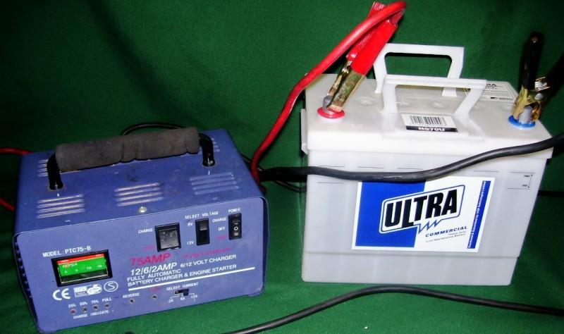 Зарядка аккумуляторной батареи