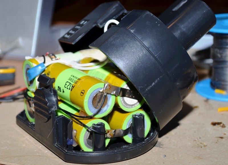Сборка готового аккумулятора