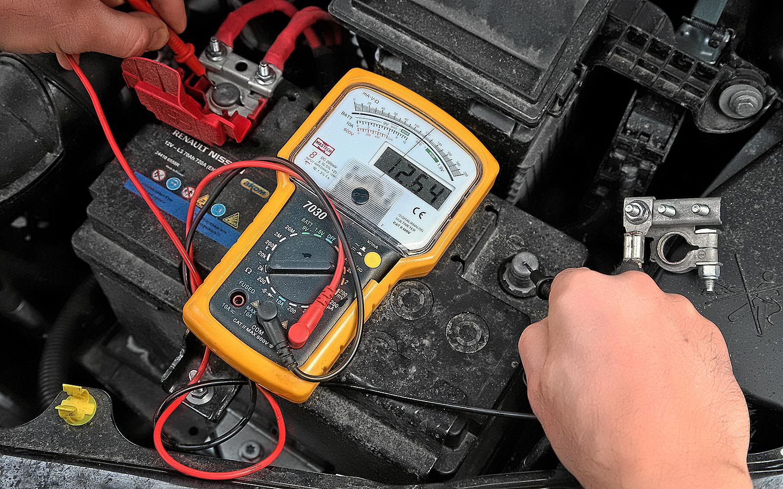 Ищем утечку тока в автомобиле
