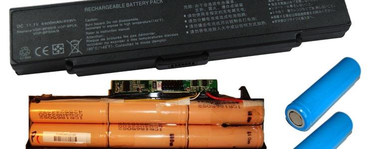 аккумуляторные батарейки ноутбука