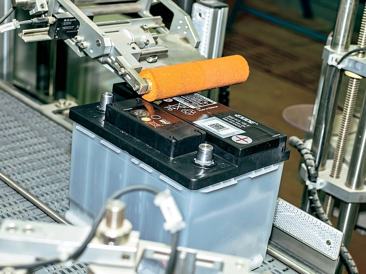 Аккумулятор Titan на полировке
