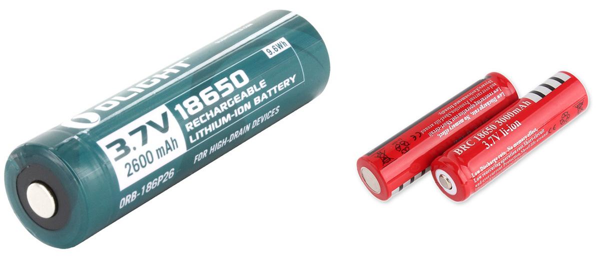 18650 литий-ионные батареи