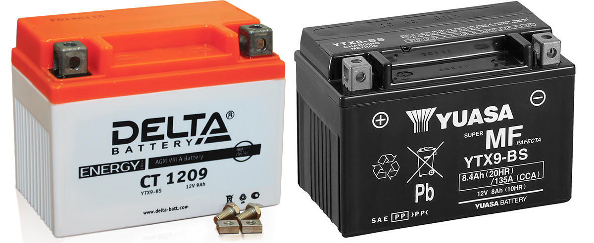 Аккумуляторы для мотоцикла от фирмы Delta