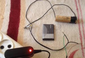 Самодельная зарядка для литий-ионного аккумулятора