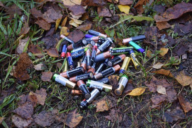 Батарейки мусор