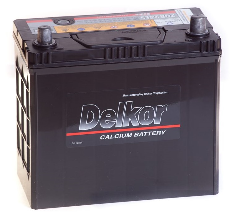 Автомобильный аккумулятор Delkor