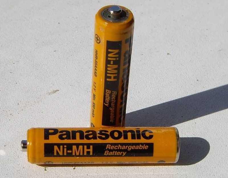 Никель-металлогидридные батареи