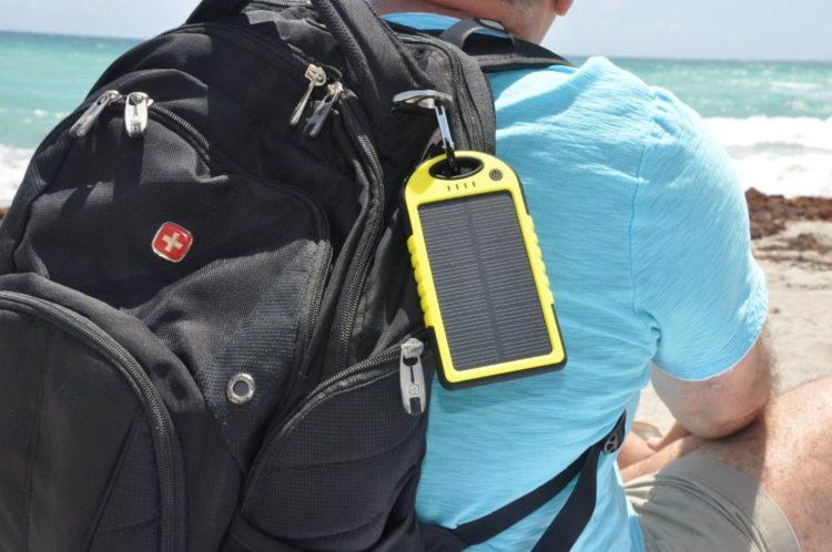 Power bank с солнечными батареями