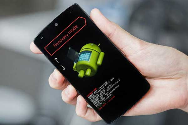 режим восстановления Андроида