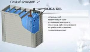 Преимущества гелевого аккумулятора
