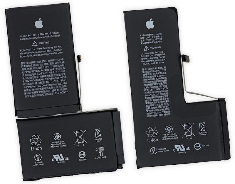 литий-ионная батарея iPhone XS Max
