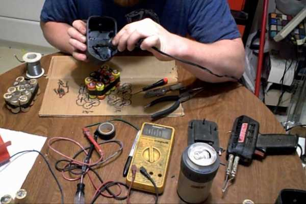 тестирование батареек