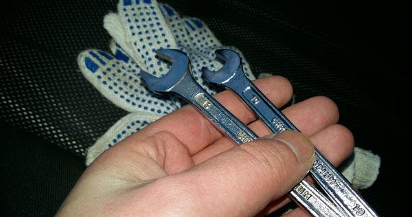 ключи и перчатки