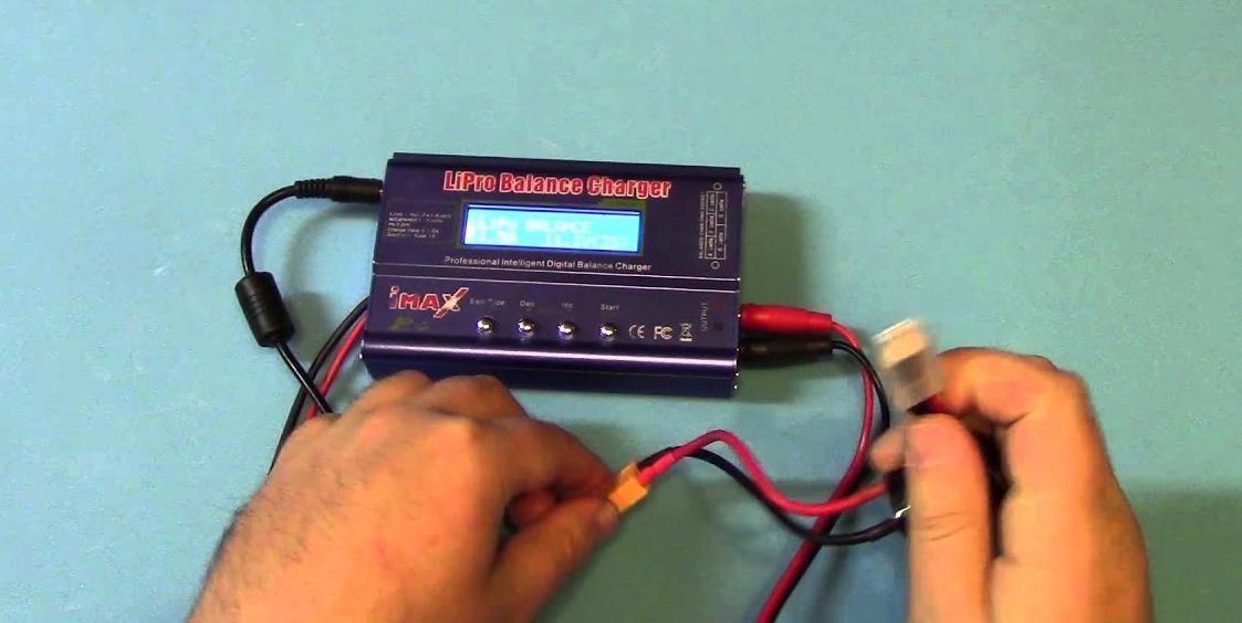 зарядка Li-Po аккумулятора