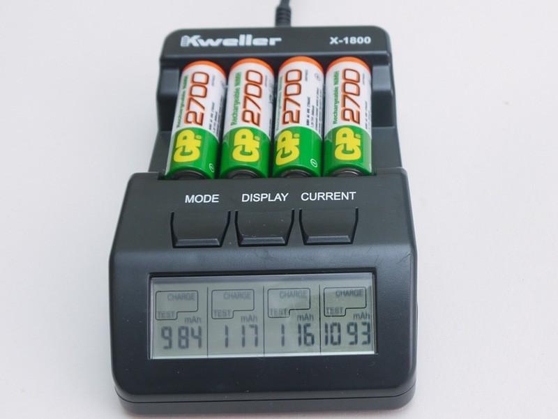 Восстановление для Ni-Mh аккумуляторов