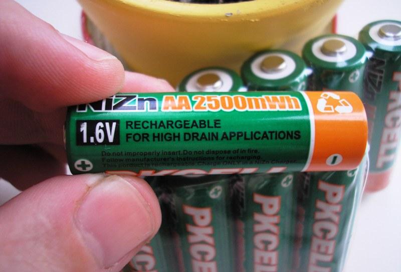 Никель цинковые аккумуляторы