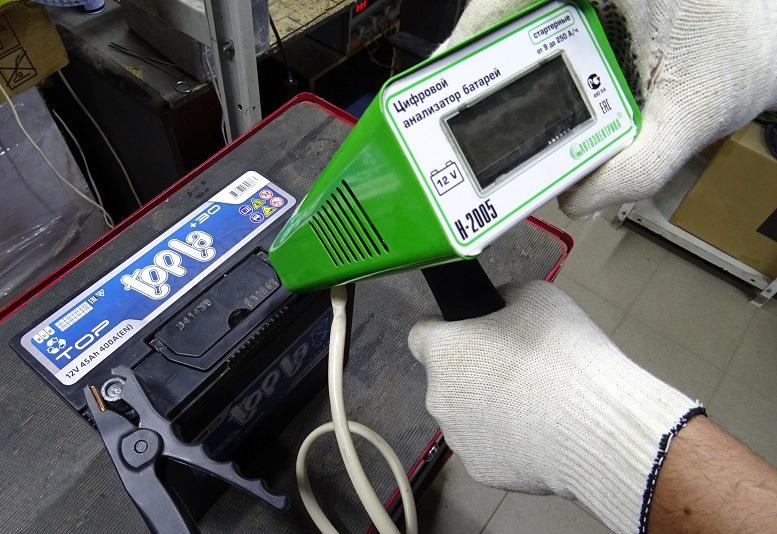От чего зависит пусковой ток аккумуляторной батареи