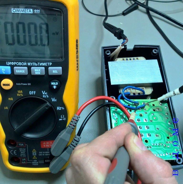 Ремонт зарядного устройства шуруповерта