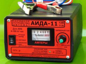 Зарядное устройство АИДА-11 для аккумулятора