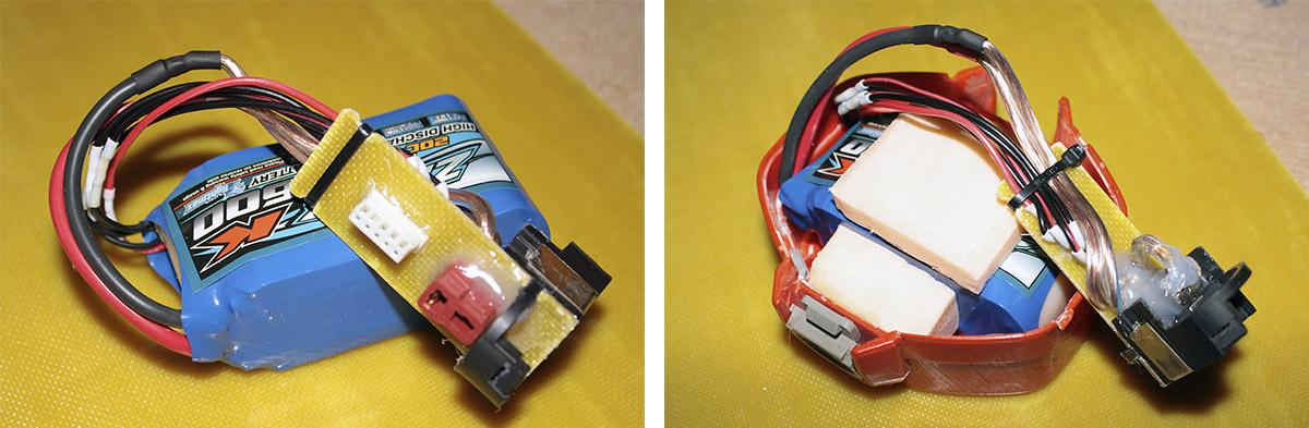 Li-Po аккумуляторы у шуруповёрта