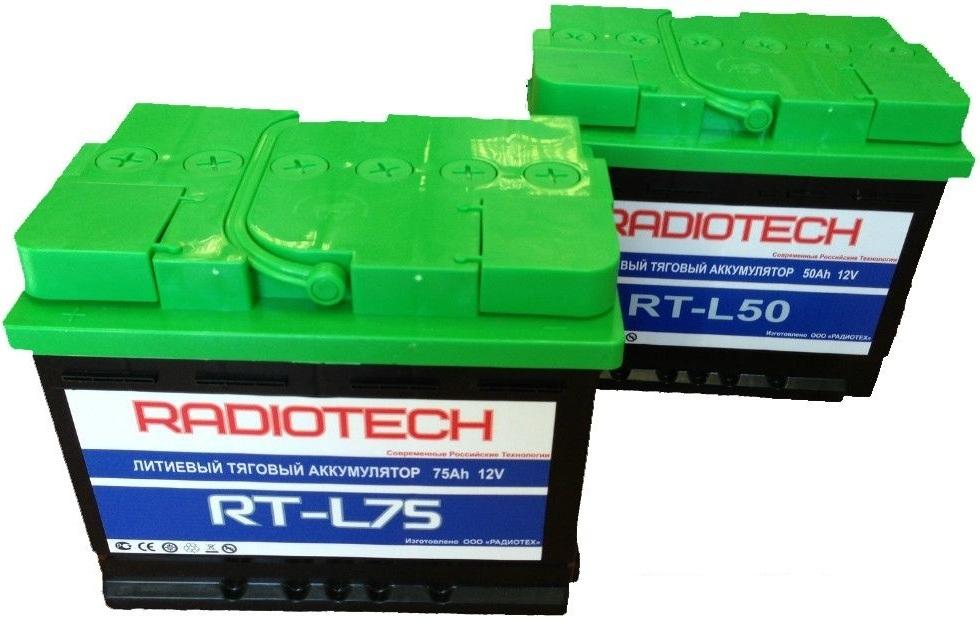 Аккумулятор RT-L75 весом 7,5 кг
