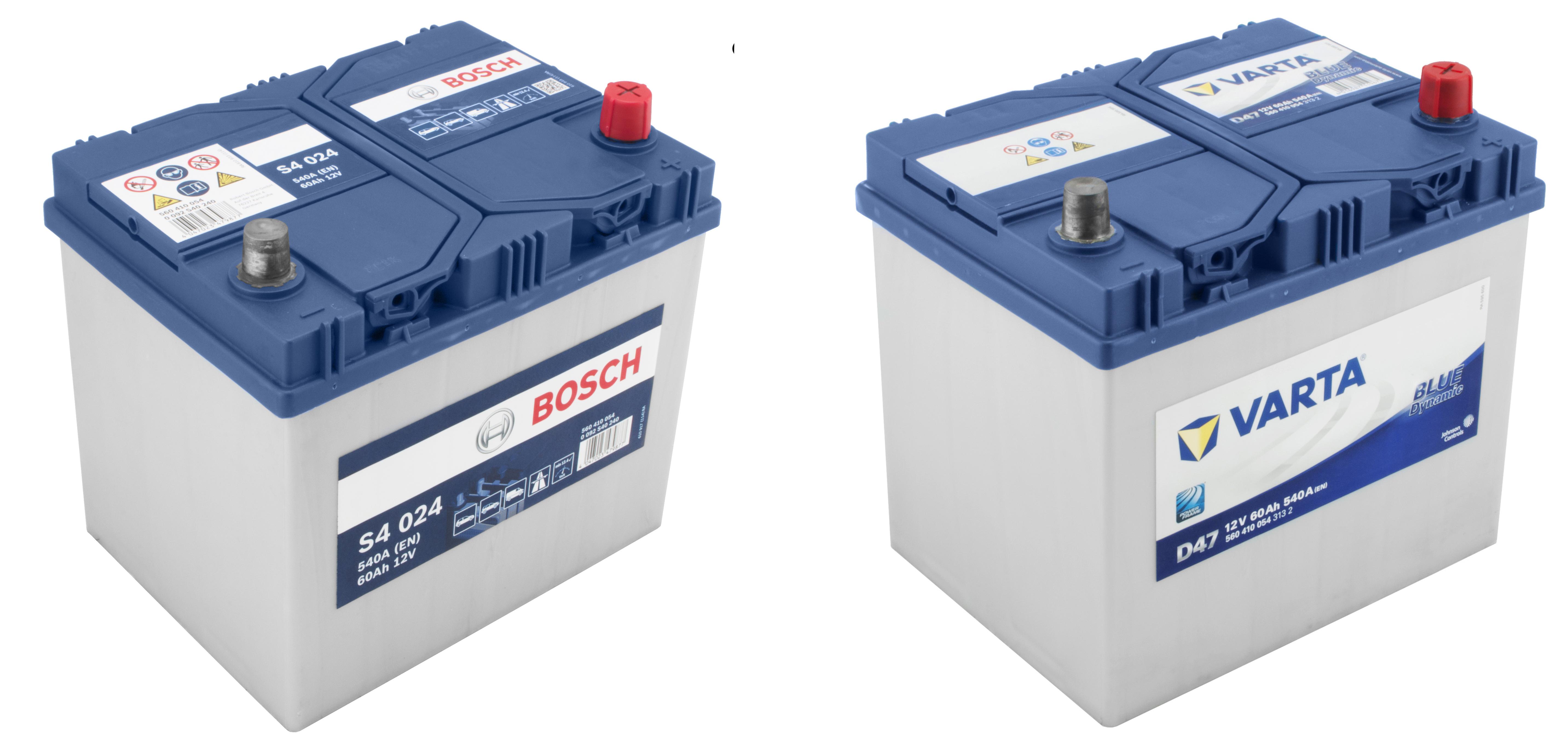 Bosch и Varta