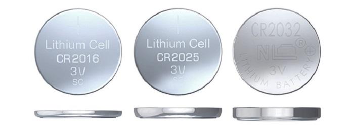 CR2016, CR2025 и CR2032