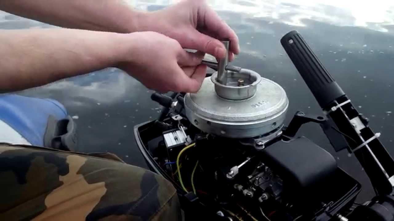 Генератор на лодочный мотор