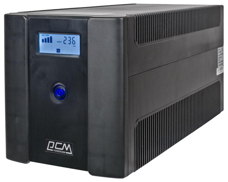 Линейно-интерактивный ИБП Powercom Raptor RPT-1025AP LCD с ЖК-экраном