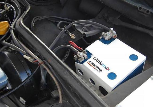 Литиевый аккумулятор для автомобиля