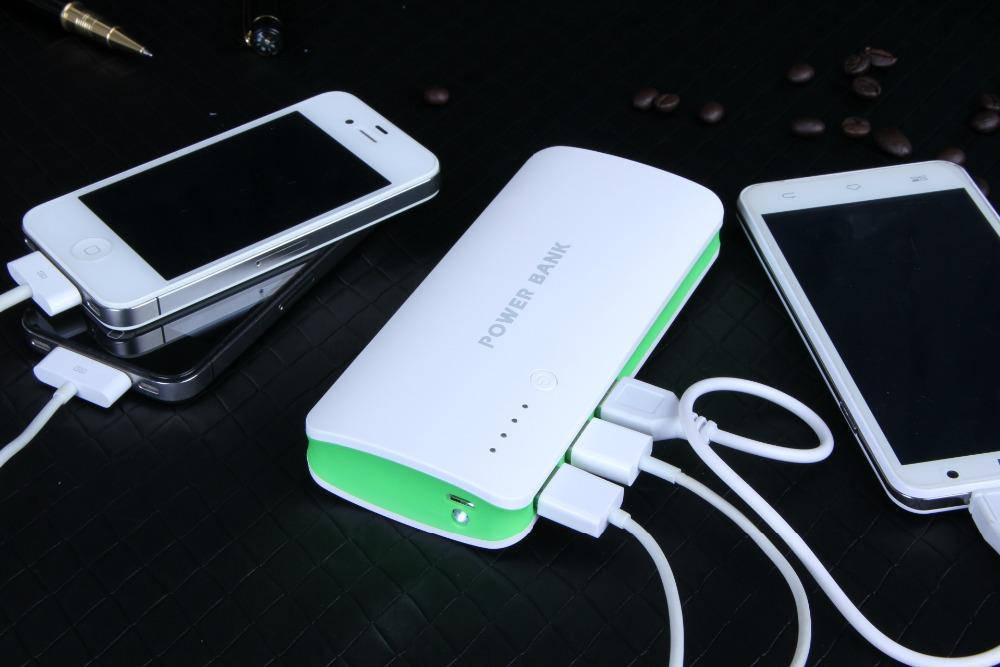 Powerbank на 3 устройства.