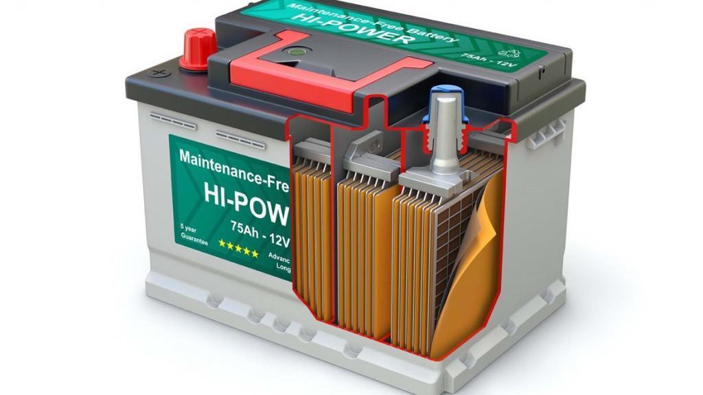 Заряд внутри аккумуляторной батареи