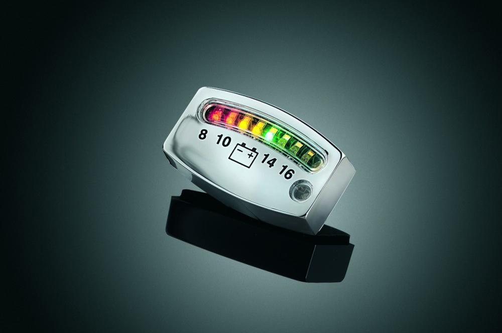 Индикатор заряда аккумулятора автомобиля