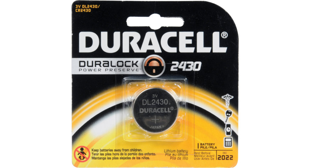 Батарейка DL2430