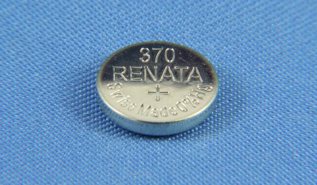 Все о часовой батарейке Renata 370